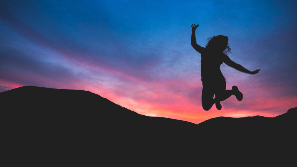 running on optimism