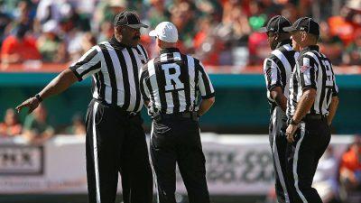 Communicating like a great referee