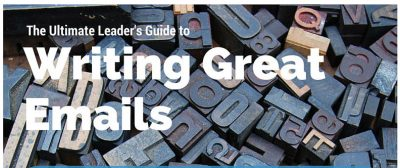 Ultimate Leader's Guide to Writing Great Emails - feature image