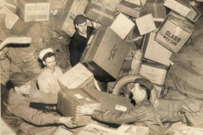 In the old days, interruptions were delivered by hand