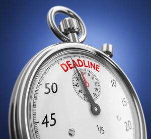 How to delegate - deadline
