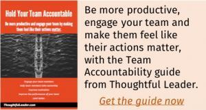 Thoughtful Leader Accountability guide