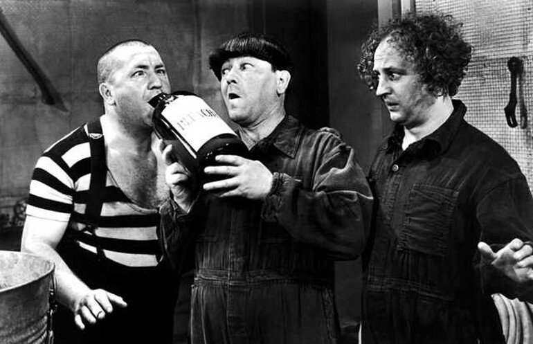 Bad team environment - three stooges