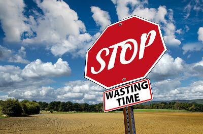 Stop wasting time - micromanaging boss