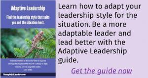 Adaptive Leadership Ad