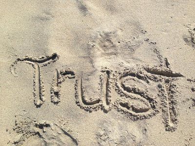 Building trust in the sand