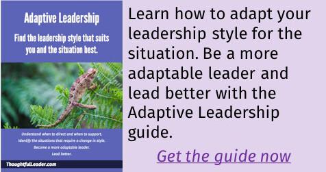 Adaptive Leadership Guide
