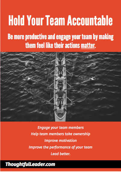 Hold your team accountable - Cover image