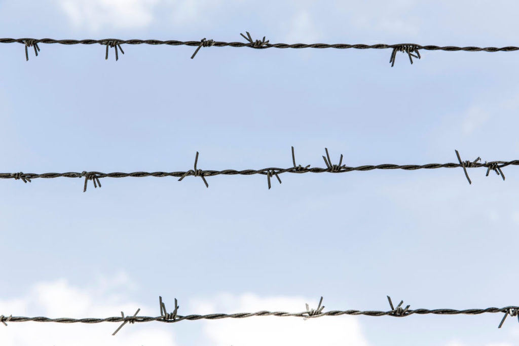 barbed wire - enemies of great leadership