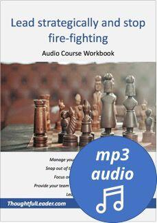 lead strategically audio course