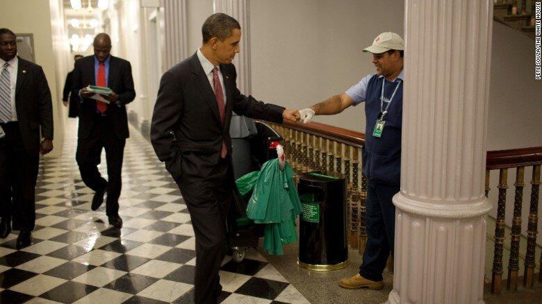 Obama show gratitude