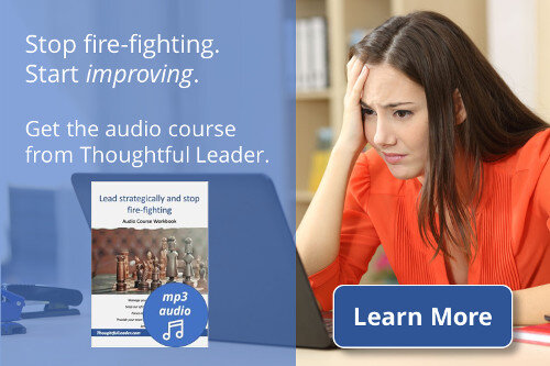 Strategic Leadership Audio Course Ad