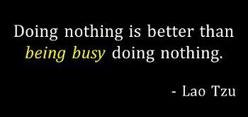 Better Leader Today - Being Busy