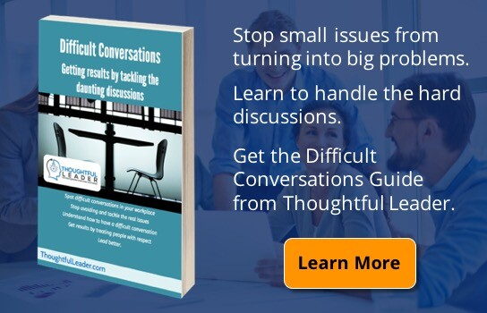 Difficult Conversations Guide Ad