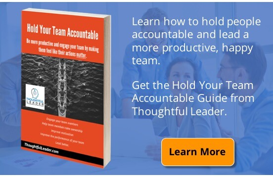Hold Your Team Accountable Ad