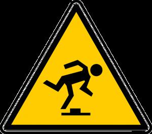 Being resilient - trip hazard