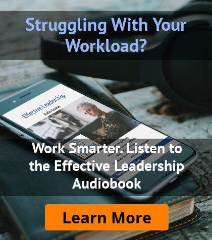 Effective Leadership Audiobook Sidebar Ad
