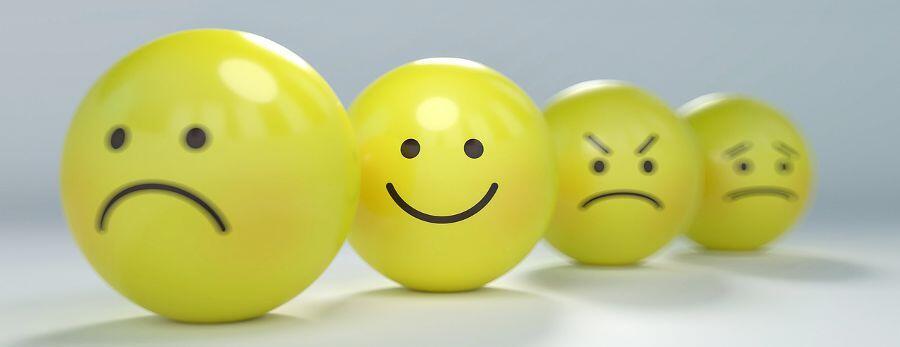 Smiley balls - happy employee