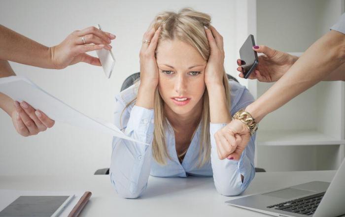 Overwhelmed at work - Main