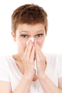 Sick person - immunity