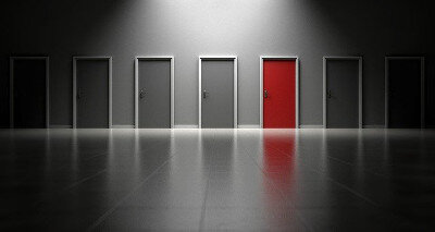 Choose the right door - future thinking
