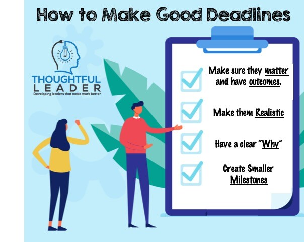 How to Set Good Deadlines