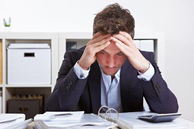 Stressed team member