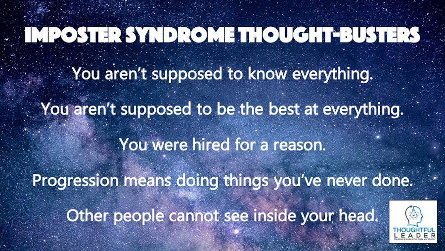 Imposter Syndrom Thought-Busters