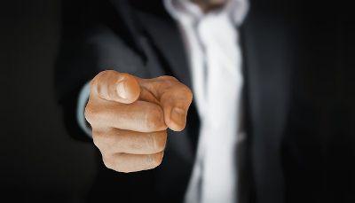 Finger pointing - weak leadership