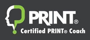 Corporate PRINT Coach Certification Logo