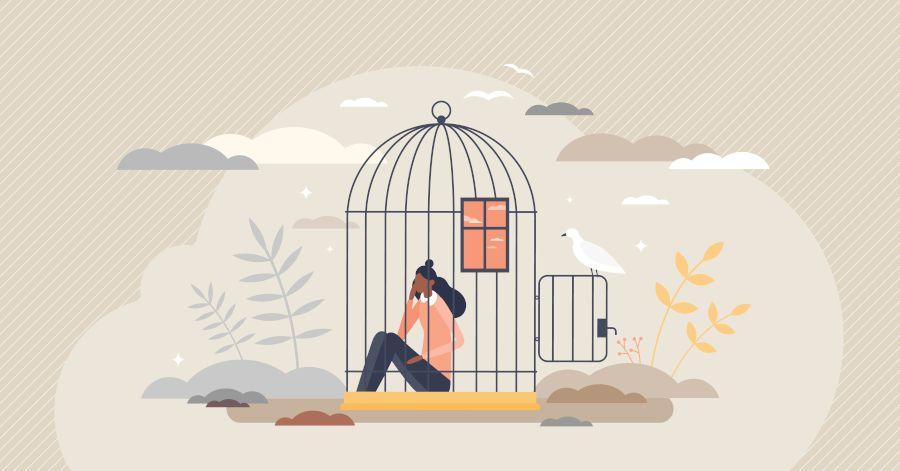 Victim Leadership Mindset - Cage - Main