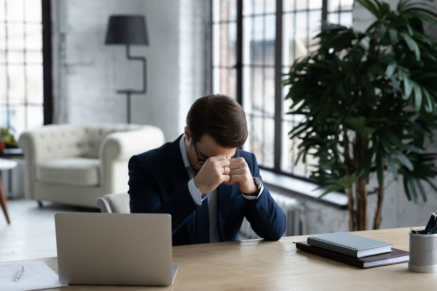 Stressed from leadership fear