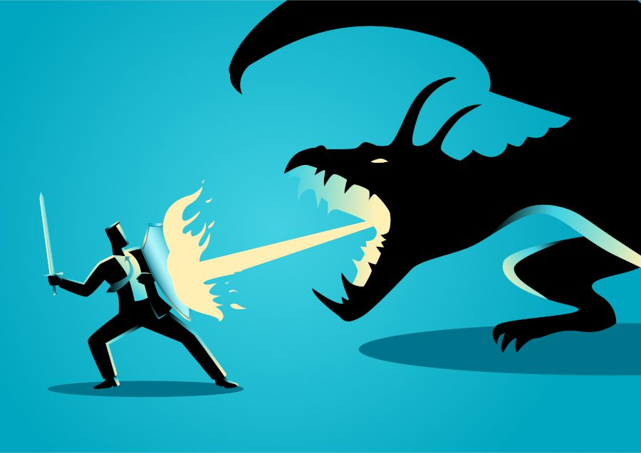 Leadership Fears - Fighting the dragon