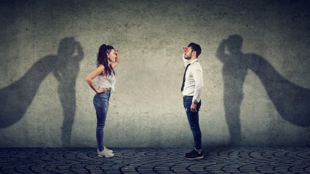 Confident people