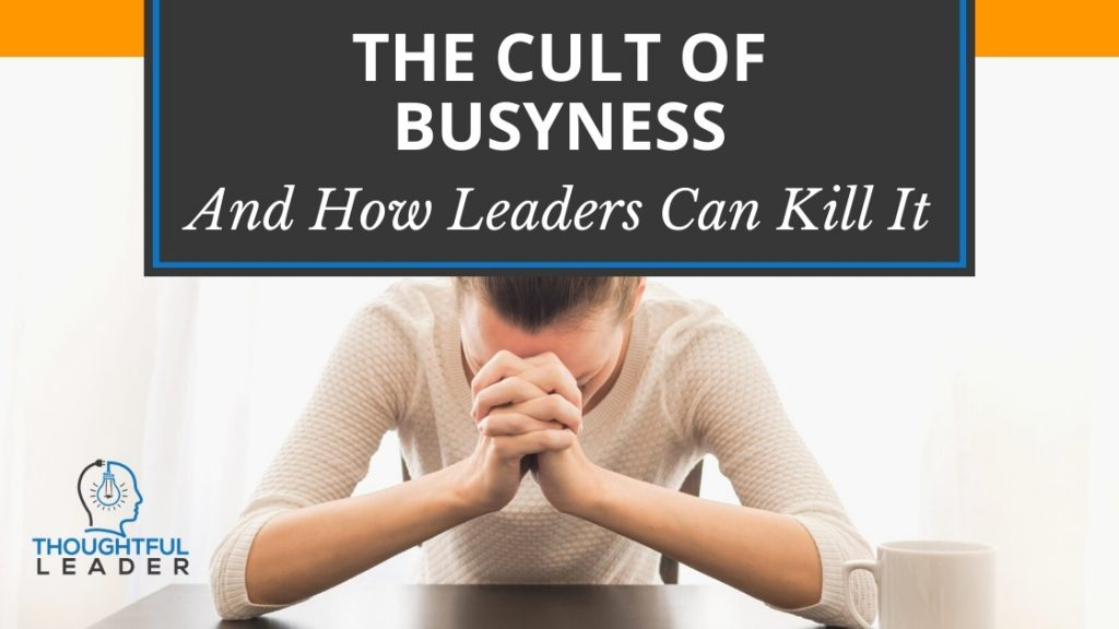 Cult of Busyness - Main
