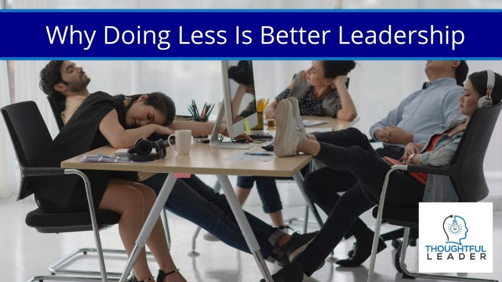 Doing Less - Main