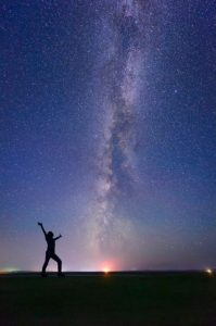 Sending a message to the universe