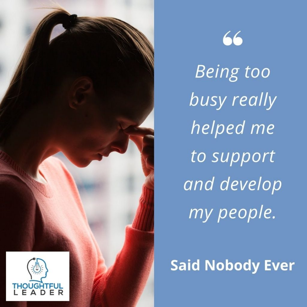 Being too busy - taking on too much - social